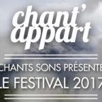 Chant'appart 2017 : 138 concerts à domicile et de riches rencontres musicales